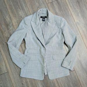 Body by Victoria light gray blazer